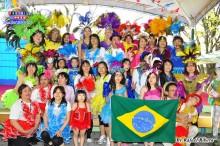 Samba Brasilera finalizó el Festival con linda presentación