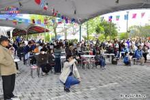 Público diverso en el Wai Wai Matsuri
