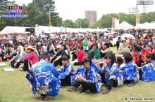 Masiva asistencia japonesa