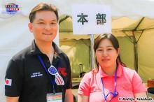 Steven Kim e Kurano San(Organizadores)