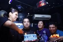 Los cumpleañeros celebraron