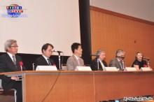 Autoridades y representantes de instituciones  japonesas y brasileras