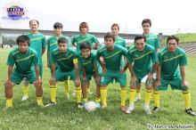 Campeonato de futbol y BBQ 2013.06.23 Dekasegi Team, constituido por brasileros