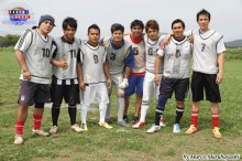 Campeonato de futbol y BBQ 2013.06.23 El equipo Klimber FC conformado por peruanos