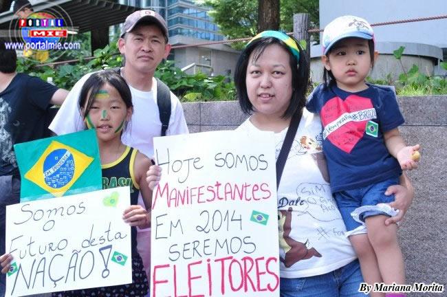 La familia Yamazaki exije menos corrupción y mejores inversiones en salud, educación y seguridad.