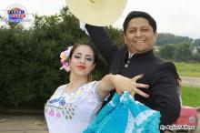 César Carrillo Pimentel y su alumna de Marinera Norteña