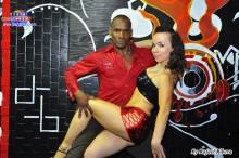 participacion de baile de salsa con Papito de republica dominicana y masha de nacionalidad rusia