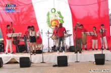 2013.07.28 Fiesta Patria La destacada orquesta La Clave divirtió a los asistentes