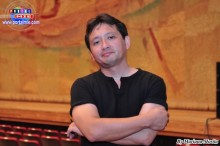 Luis Kiyohara, a nombre de la productora Nazca Tropical Entertainment, agradece al público por su asistencia