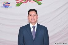 Vicecónsul Javier Salas, expositor de cultura peruana