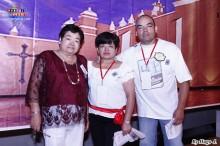 La familia Takahashi, organizadores del evento