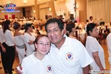 David Quincho y su esposa Asako Takabayashi,organizadores del majestuoso II Selectivo.