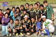 """El equipo campeón """"Drunks FC"""""""