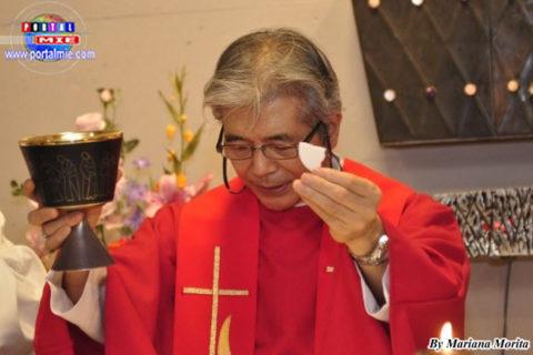 Monseñor Miguel Matsuura, representante para extranjeros en la Conferencia Nacional de Obispos de Japón.