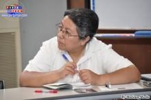 Representante de APALA, Hna. Ana María Gonzales.