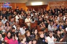 Alrededor de 400 fieles asistieron a la misa