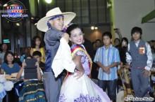 Lucas cautivó miradas llenas de emoción al danzar con Namie.