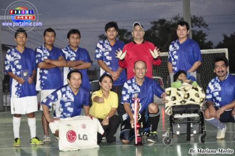 Los amigos de André, equipo Campeón de la I Copa Confraternidad