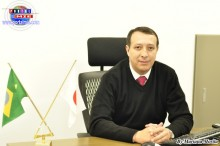 Claudenir da Silva Oliveira gerente en la agencia de Hamamatsu.