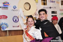 Desde Shiga los Bicampeones de Marinera esposos Rubén Cadillo y Jaqueline, dirigen la Academia Somos Perú