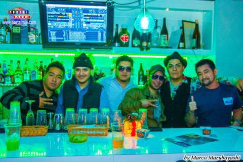 Dj tony, Dj awake, Jefrey Miguel, Alibaba urbano, invitado y Dj La rumba
