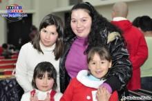 Familia brasileña participa en cursos de Pecla.