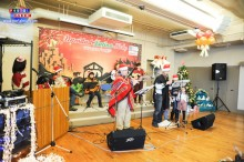 Alegre y emotiva Navidad Latina Kobe 2013