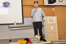 El presidente de la Asociación de Líderes de Prevención de Catástrofes de Aichi, señor Yamakawa