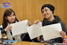 Mariana y Rafael jóvenes participantes, padecieron de Ijime en sus escuelas.