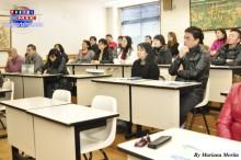 Conferencista  Fumio Shimamura de la Oficina de Consultoría del Trabajador y Seguro Social