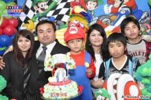 Familia Higa Torres celebró una gran fiesta infantil por su menor hijo