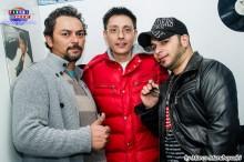 Marcelo, Rogerio y Cristhian