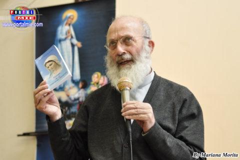 Padre Luciano Ciciarelli ofreció la Conferencia Tratado de la Verdadera Devoción a la Virgen María