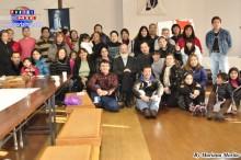 Padre Luciano acompañado de las comunidades católicas de Hibino, Komaki, Anjo, Kariya y Saitama