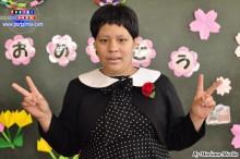 Abril Vergara Sakiyama, una tierna niña autista, culminó sus estudios primarios