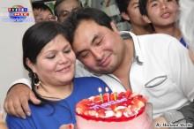Marisol Higa festejó su cumpleaños en una divertida reunión.