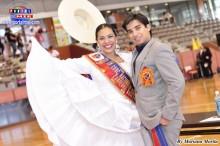 Campeones Guillermo Suero Marcone y Gladys Llamosa miembros del jurado.