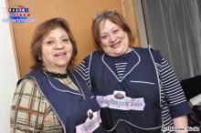 Dina Loret de Mola y Griselda, expertas en culinaria peruana.
