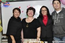 Los profesores Haruko, Esperanza, Janete y Akira