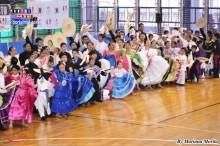 Niños, jóvenes y adultos danzaron cada paso con  fuerza, amor y entrega