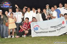 El Equipo Ancashiro Chambara ocupó el segundo lugar, recibió la copa de SBI Remit.