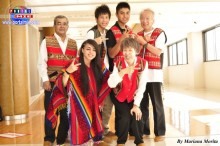 Grupo Folclórico Pachamama integrado por adolescentes y japoneses.