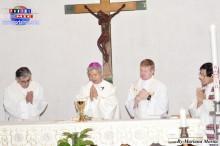 Celebración de la misa por el Obispo Auxiliar de Osaka Mns. Michael Matsuura Goro
