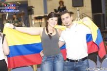 Colombianos seguidores de Víctor Manuel