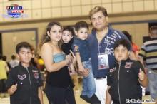 La familia Arroyo desde Shiga presente en el concierto.