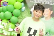 Takayoshi súper feliz, celebrando sus 11 años!