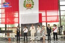 Autoridades japonesas, peruanas y organizadores