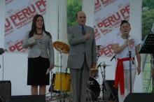 Autoridades peruanas presentes en Nagoya Festival.