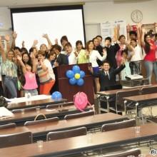 Gran asistencia en el evento de Corazones de Platino en Japón.