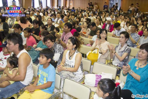 Público diverso se hizo presente